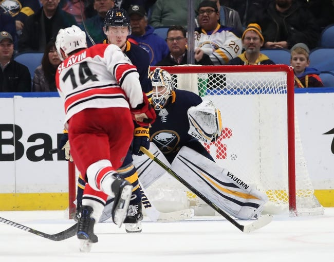 Carolina Hurricanes vs. Buffalo Sabres - 12/23/17 NHL Pick, Odds, and Prediction