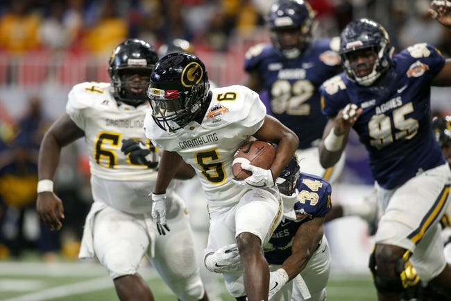 Louisiana vs. Grambling - 9/1/18 College Football Pick, Odds, and Prediction