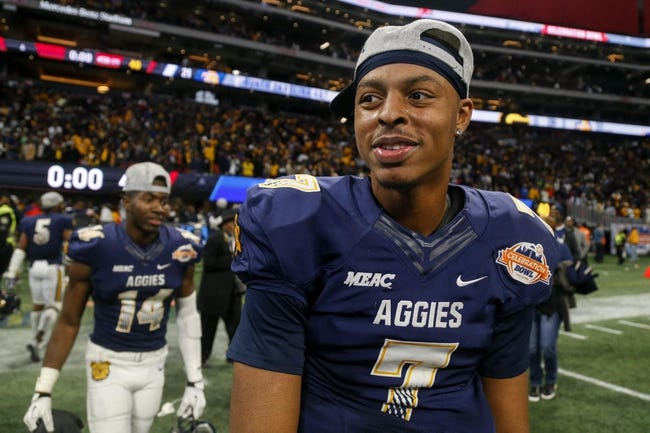 North Carolina A&T vs. Morgan State - 9/22/18 College Football Pick, Odds, and Prediction