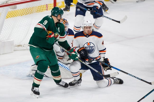 Edmonton Oilers vs. Minnesota Wild - 3/10/18 NHL Pick, Odds, and Prediction