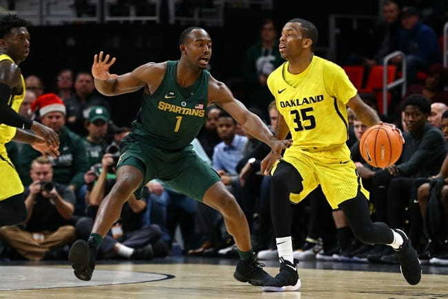 NCAA BB | Oakland Grizzlies (4-8) at Michigan State Spartans (9-2)