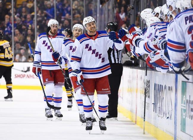 New York Rangers vs. New York Islanders - 1/13/18 NHL Pick, Odds, and Prediction