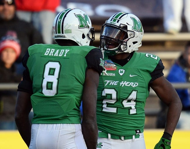 Marshall vs. Eastern Kentucky - 9/8/18 College Football Pick, Odds, and Prediction