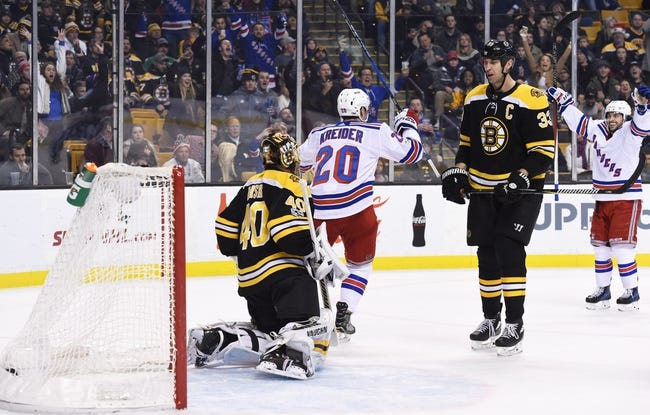 New York Rangers vs. Boston Bruins - 2/7/18 NHL Pick, Odds, and Prediction
