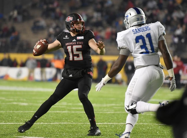 Arkansas State vs. Southeast Missouri State - 9/1/18 College Football Pick, Odds, and Prediction