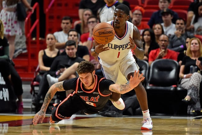 Los Angeles Clippers vs. Miami Heat - 12/8/18 NBA Pick, Odds, and Prediction