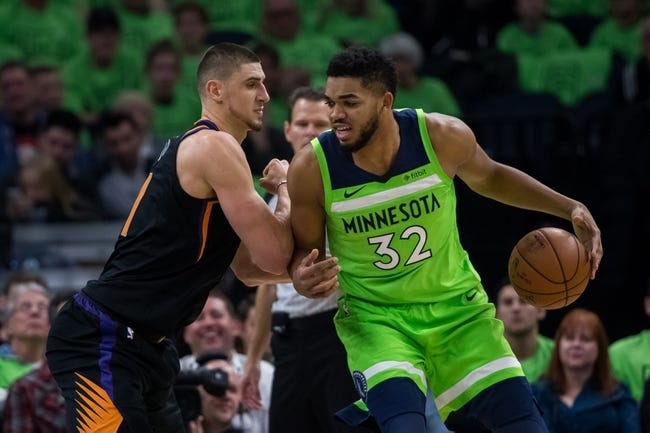 Phoenix Suns vs. Minnesota Timberwolves - 12/23/17 NBA Pick, Odds, and Prediction