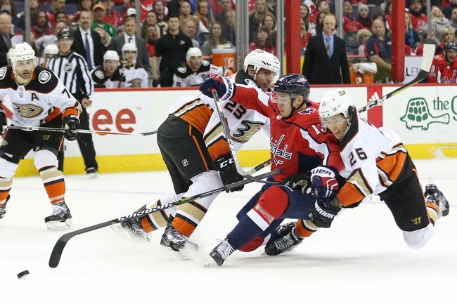 Anaheim Ducks vs. Washington Capitals - 3/6/18 NHL Pick, Odds, and Prediction