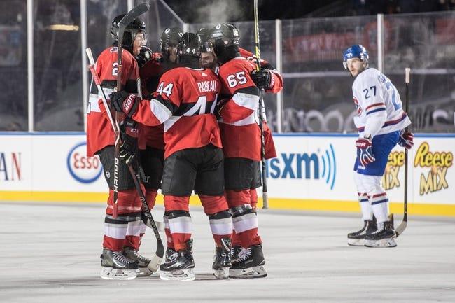 Montreal Canadiens vs. Ottawa Senators - 2/4/18 NHL Pick, Odds, and Prediction