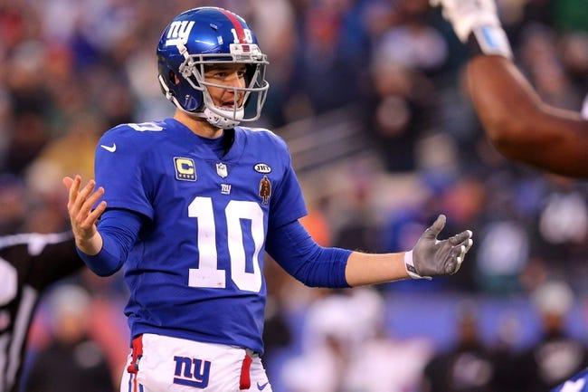 New York Giants at Arizona Cardinals - 12/24/17 NFL Pick, Odds, and Prediction