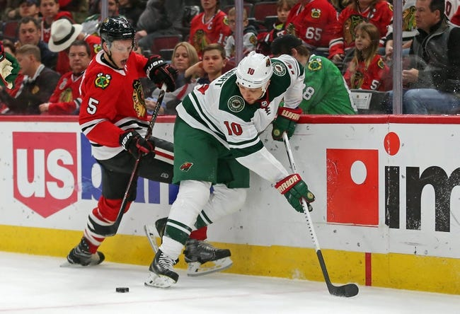 Chicago Blackhawks vs. Minnesota Wild - 1/10/18 NHL Pick, Odds, and Prediction