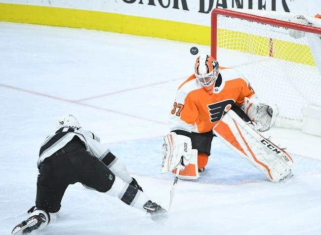 NHL   Los Angeles Kings at Philadelphia Flyers