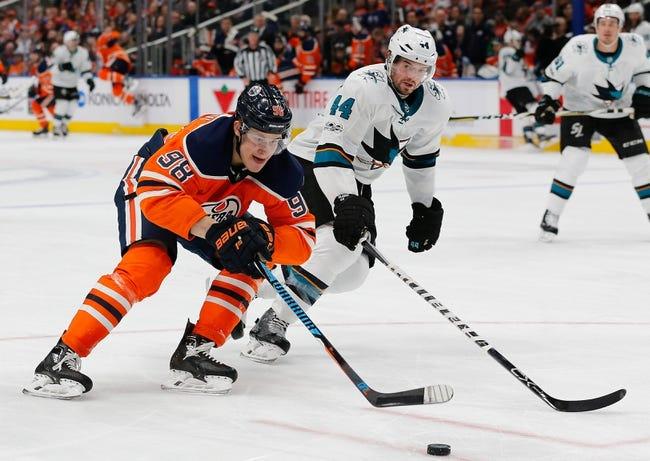 San Jose Sharks vs. Edmonton Oilers - 2/10/18 NHL Pick, Odds, and Prediction