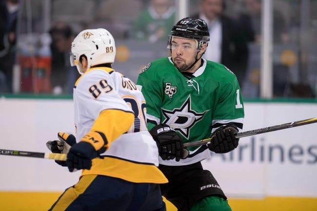 Dallas Stars vs. Nashville Predators - 12/23/17 NHL Pick, Odds, and Prediction