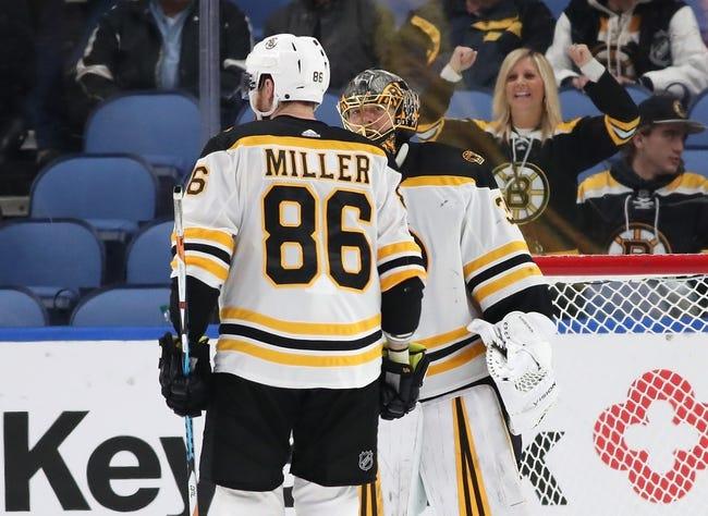 Boston Bruins vs. Buffalo Sabres - 2/10/18 NHL Pick, Odds, and Prediction