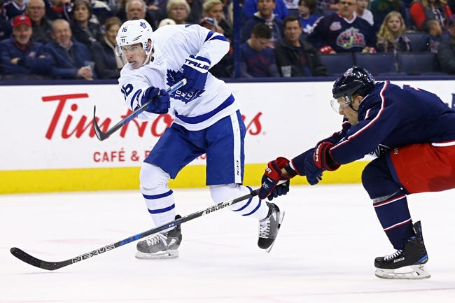 Toronto Maple Leafs vs. Columbus Blue Jackets - 1/8/18 NHL Pick, Odds, and Prediction