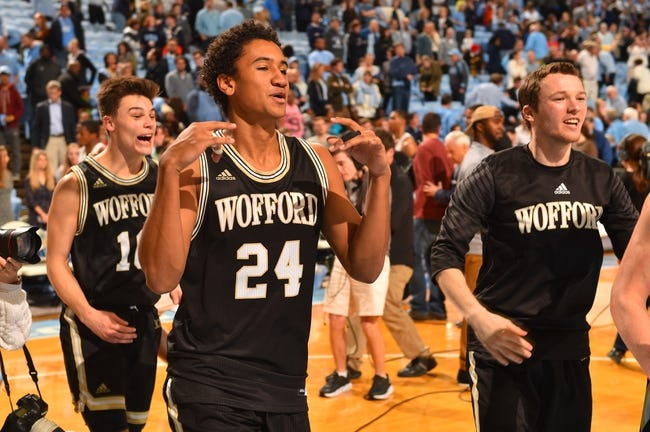 UNC Greensboro vs. Wofford - 12/30/17 College Basketball Pick, Odds, and Prediction