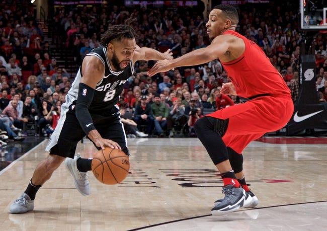 Portland Trail Blazers vs. San Antonio Spurs - 1/7/18 NBA Pick, Odds, and Prediction