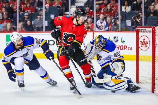 St. Louis Blues vs. Calgary Flames - 10/11/18 NHL Pick, Odds, and Prediction