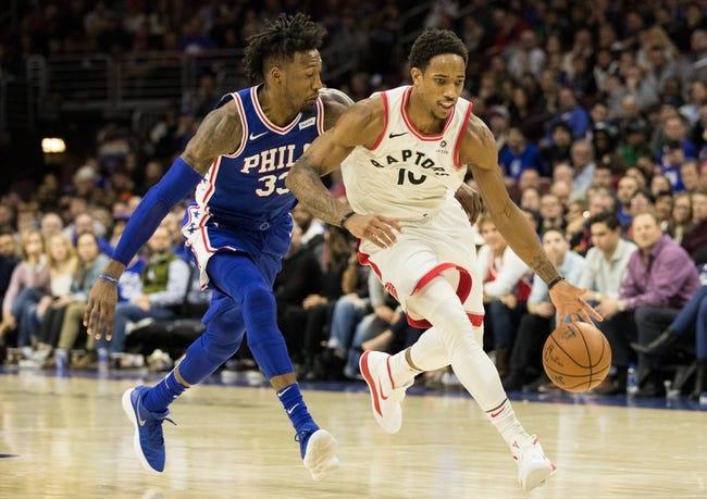 Toronto Raptors vs. Philadelphia 76ers - 12/23/17 NBA Pick, Odds, and Prediction