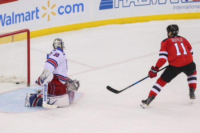 New Jersey Devils vs. New York Rangers - 4/3/18 NHL Pick, Odds, and Prediction
