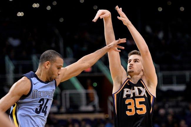 Phoenix Suns vs. Memphis Grizzlies - 12/26/17 NBA Pick, Odds, and Prediction