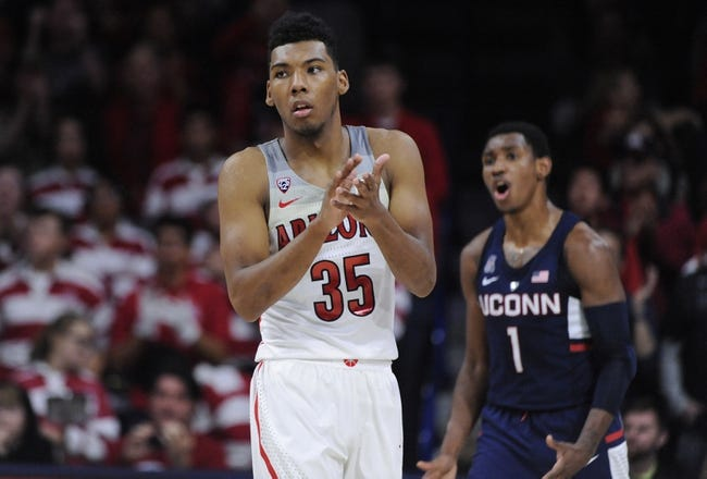 Connecticut vs. Arizona - 12/2/18 College Basketball Pick, Odds, and Prediction