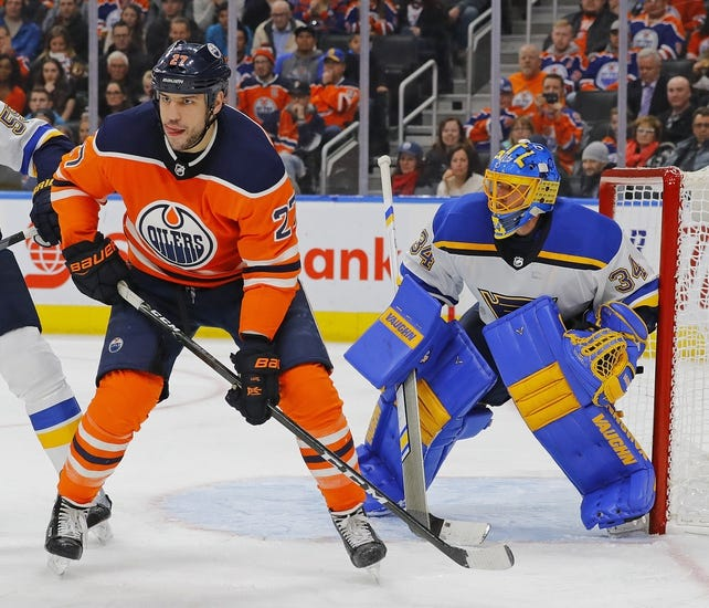 NHL | Edmonton Oilers (13-12-2) at St. Louis Blues (9-13-3)