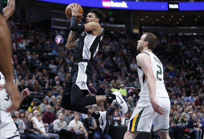 San Antonio Spurs vs. Utah Jazz - 2/3/18 NBA Pick, Odds, and Prediction