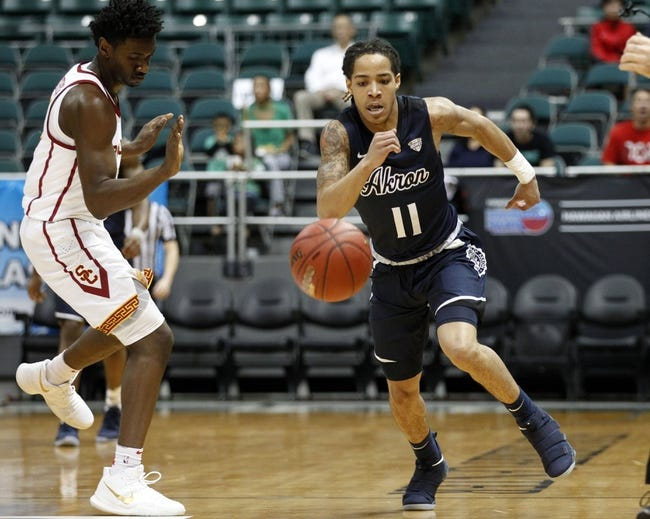 NCAA BB | Tennessee State Tigers (3-6) at Akron Zips (6-4)