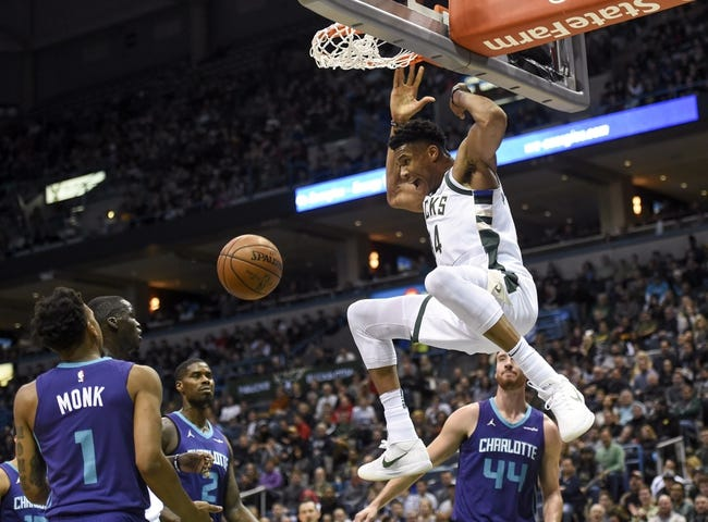 Charlotte Hornets vs. Milwaukee Bucks - 12/23/17 NBA Pick, Odds, and Prediction