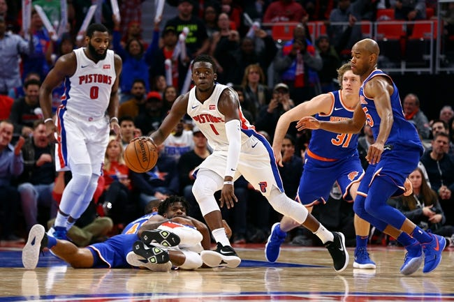 New York Knicks vs. Detroit Pistons - 3/31/18 NBA Pick, Odds, and Prediction