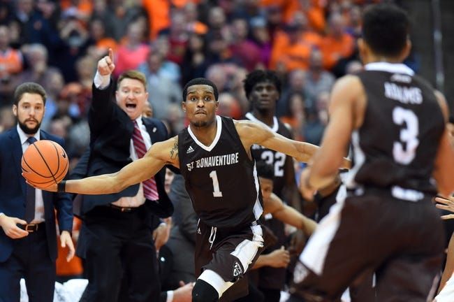 St. Bonaventure vs. UMass - 12/30/17 College Basketball Pick, Odds, and Prediction