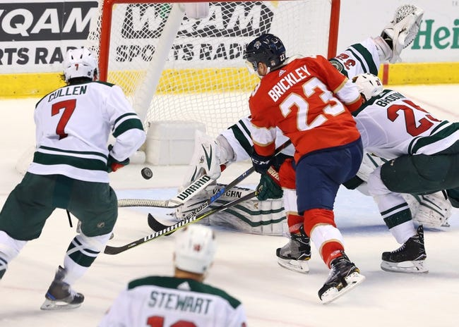 Minnesota Wild vs. Florida Panthers - 1/2/18 NHL Pick, Odds, and Prediction