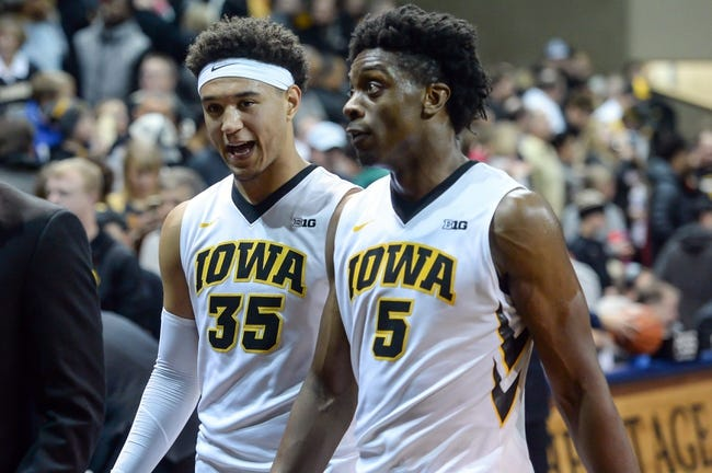 Iowa vs. Northern Illinois - 12/29/17 College Basketball Pick, Odds, and Prediction