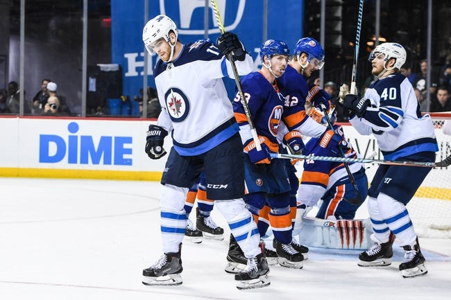 Winnipeg Jets vs. New York Islanders - 12/29/17 NHL Pick, Odds, and Prediction
