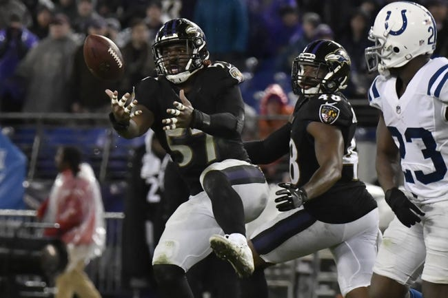 NFL | Baltimore Ravens (9-7) at Indianapolis Colts (4-12)