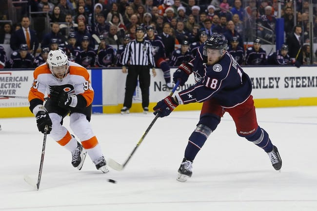 Columbus Blue Jackets vs. Philadelphia Flyers - 2/16/18 NHL Pick, Odds, and Prediction