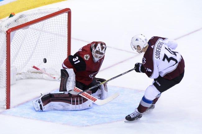 Colorado Avalanche vs. Arizona Coyotes - 12/27/17 NHL Pick, Odds, and Prediction