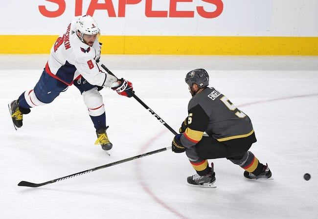 NHL | Vegas Golden Knights (34-13-4) at Washington Capitals (30-16-5)