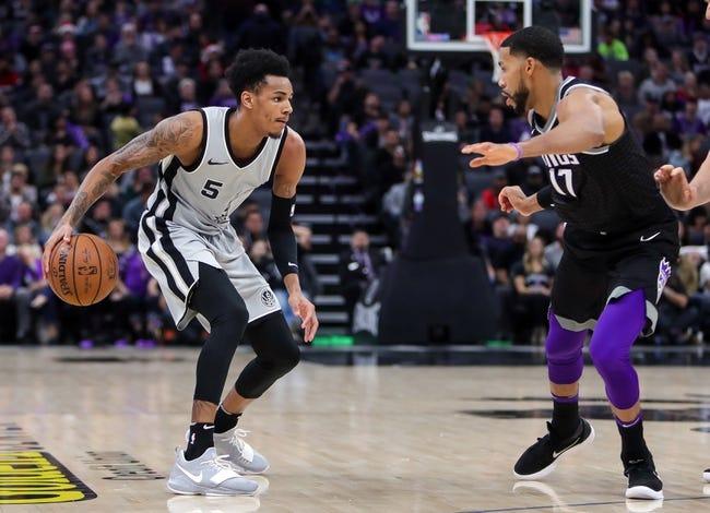 Sacramento Kings vs. San Antonio Spurs - 1/8/18 NBA Pick, Odds, and Prediction