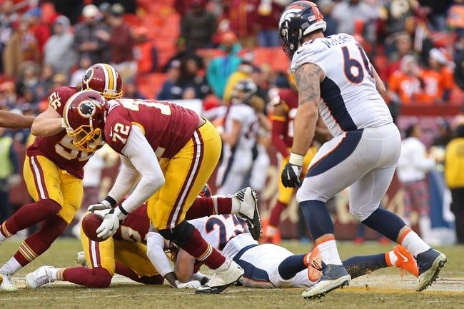 Washington Redskins vs. Denver Broncos - 8/24/18 NFL Pick, Odds, and Prediction