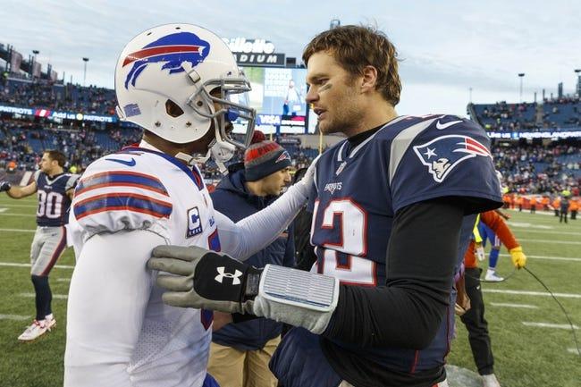 New England Patriots at Buffalo Bills - 10/29/18 NFL MNF Pick, Odds, and Prediction