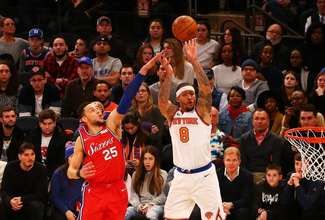 Philadelphia 76ers vs. New York Knicks - 2/12/18 NBA Pick, Odds, and Prediction
