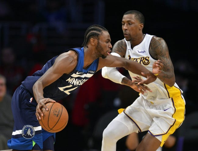Minnesota Timberwolves vs. Los Angeles Lakers - 1/1/18 NBA Pick, Odds, and Prediction
