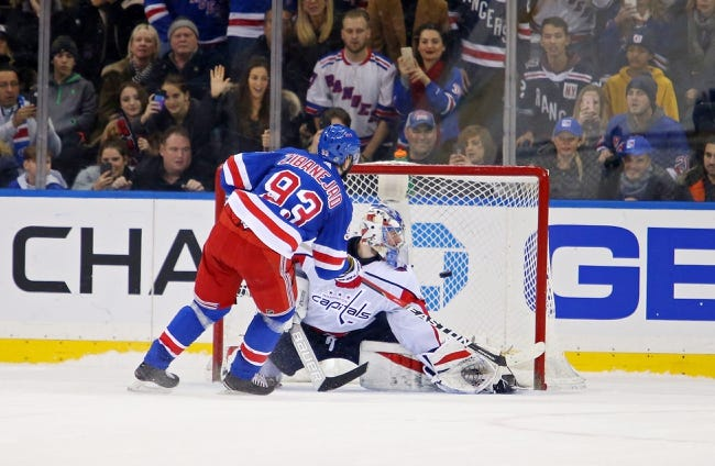 NHL | Washington Capitals (44-24-7) at New York Rangers (33-34-8)