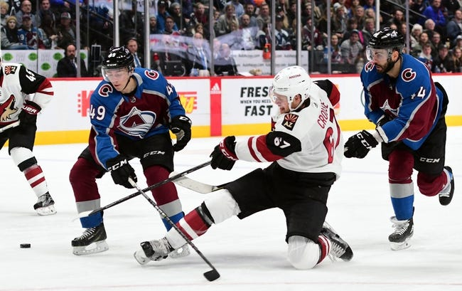 Colorado Avalanche vs. Arizona Coyotes - 3/10/18 NHL Pick, Odds, and Prediction