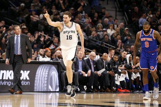 NBA | San Antonio Spurs at New York Knicks