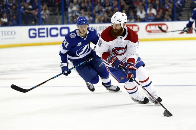 Montreal Canadiens vs. Tampa Bay Lightning - 1/4/18 NHL Pick, Odds, and Prediction