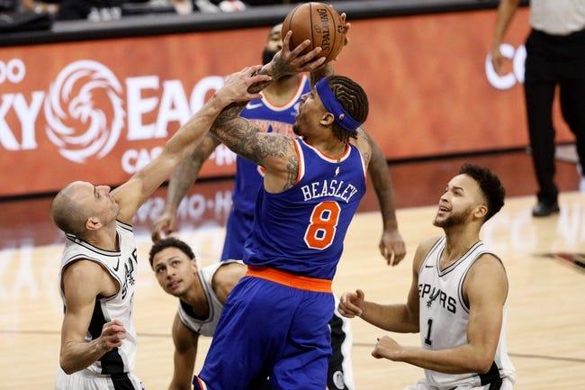 New York Knicks vs. San Antonio Spurs - 1/2/18 NBA Pick, Odds, and Prediction